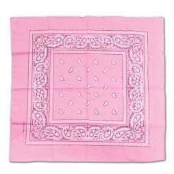 foulard bandana rose