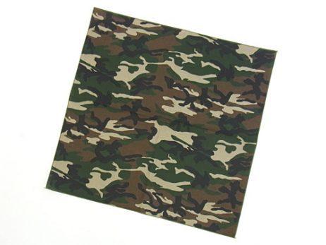 Bandana camouflage armee