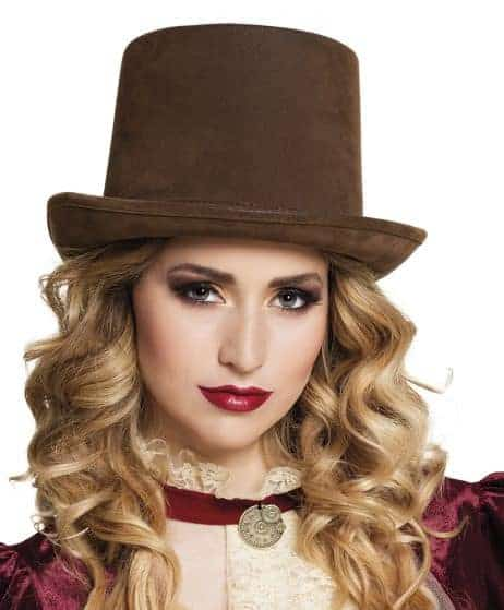 CHAPEAU STEAMPUNK (Version de luxe - Marron)