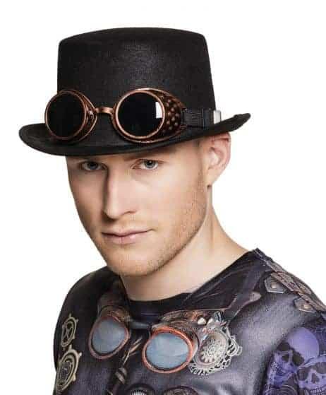 Chapeau steampunk haut de forme