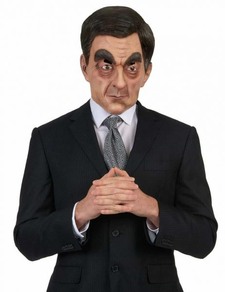 MASQUE FRANCOIS FILLON (Personnalité Politique) Masque Intégral en latex