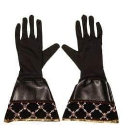 Gants noirs de pirates
