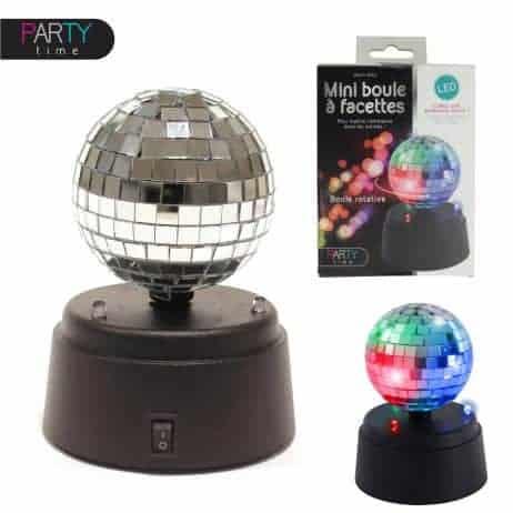 Boule disco lumineuse