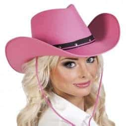 Chapeau rodéo Rose