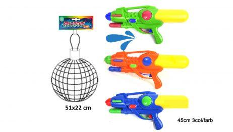 Pistolet a eau 45 cm