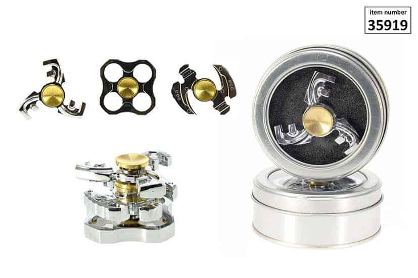 toupie hand spinner mod le de luxe m tal assortiment 3 formes ced. Black Bedroom Furniture Sets. Home Design Ideas