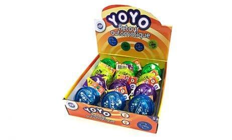 Yo-yo lumineux retour auto