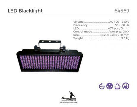 Projecteur lumiere noire