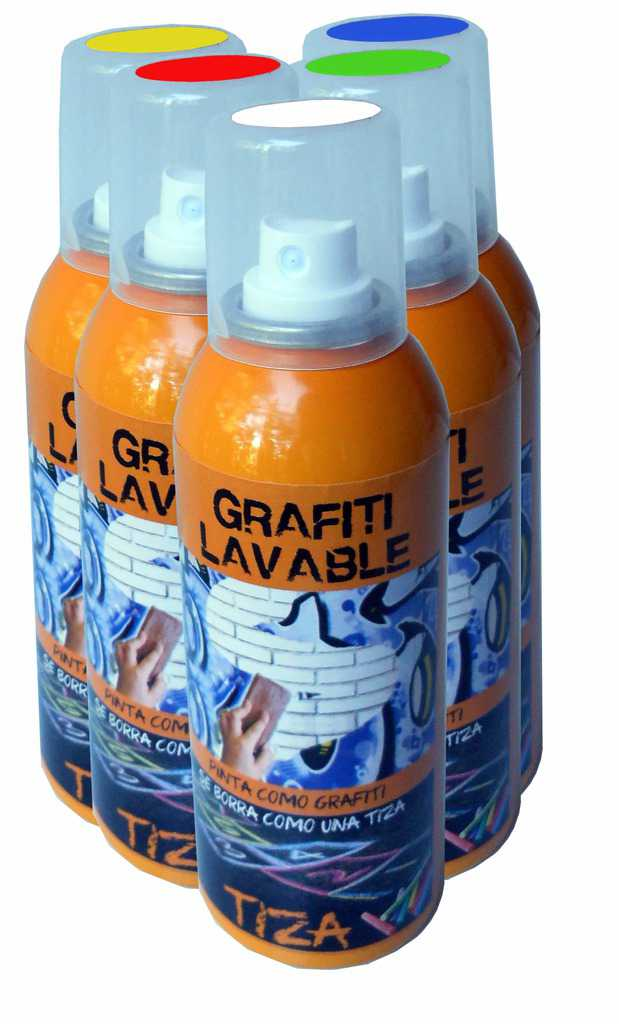 Bombe de craie graffiti contenance 150 ml ced - Bombe de graffiti ...