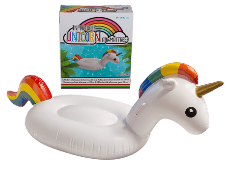 Licorne gonflable 150 cm