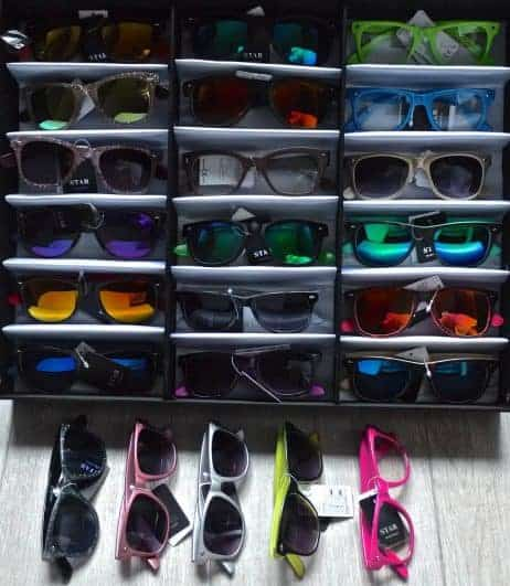 Pack lunettes assorties