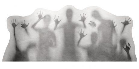 Sticker silhouettes 35 x 78 cm