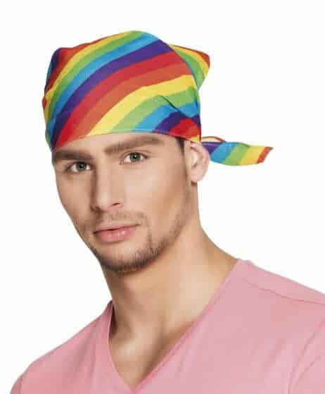 BANDANA ARC EN CIEL (Bandana Gay pride)