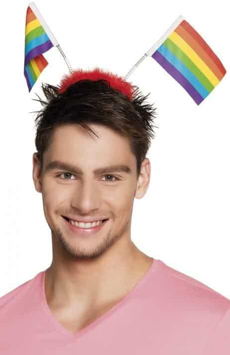 SERRE TÊTE ARC EN CIEL (Spécial Gay pride)