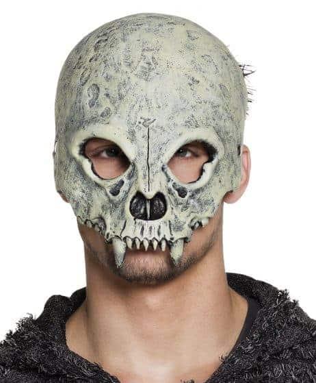 Demi masque squelette