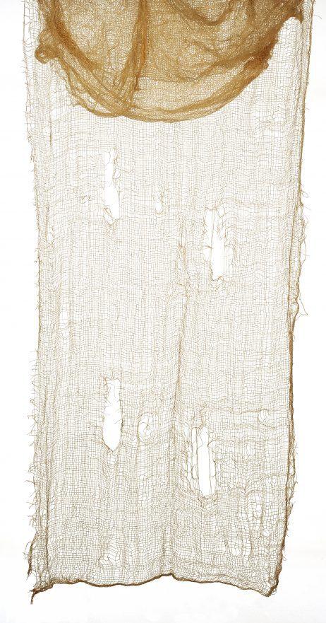 RIDEAU LAMBEAU NATUREL (Décoration Halloween) Dimension 75 x 300 cm