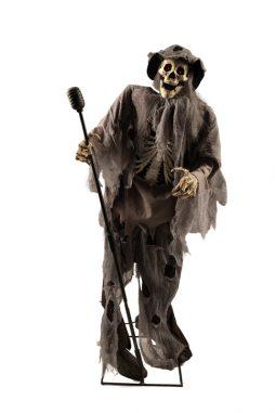 Chanteur squelette 160 cm