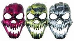 Masque squelette rigide