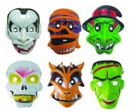 Masques halloween enfants