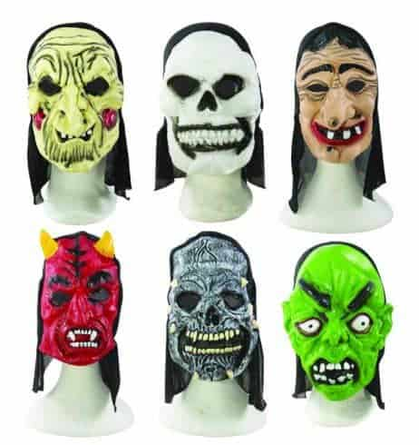 Masques halloween adultes