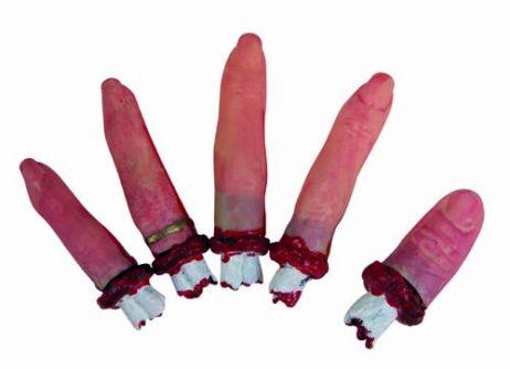 doigts de la main arrachés