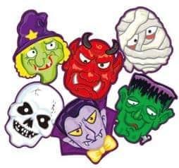 Masques Halloween carton
