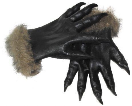 paire de gants loup garou