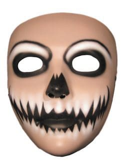 Masque halloween plastique