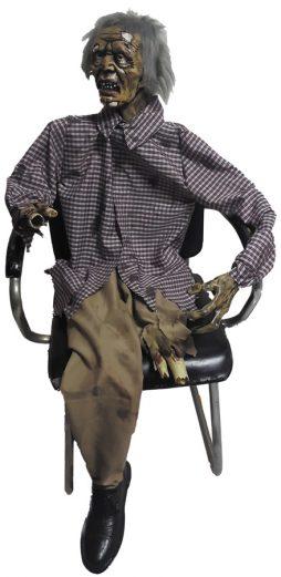 Zombie estropié assis