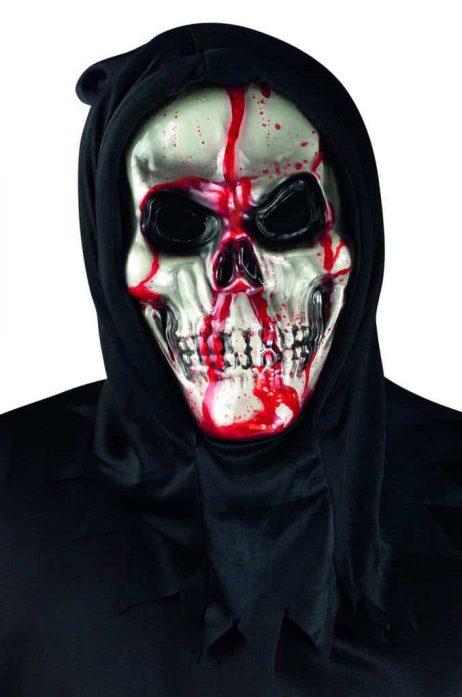 Masque squelette sanglant