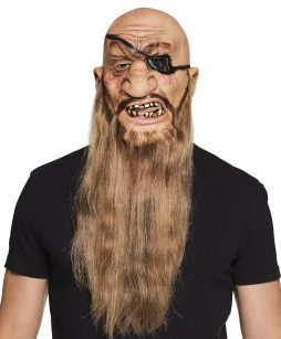 Masque pirate longue barbe