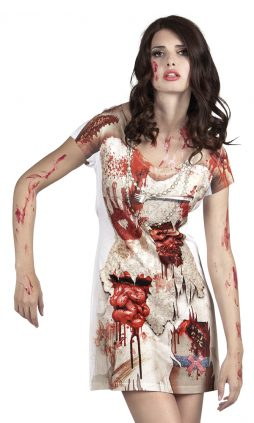 Robe tachée de sang