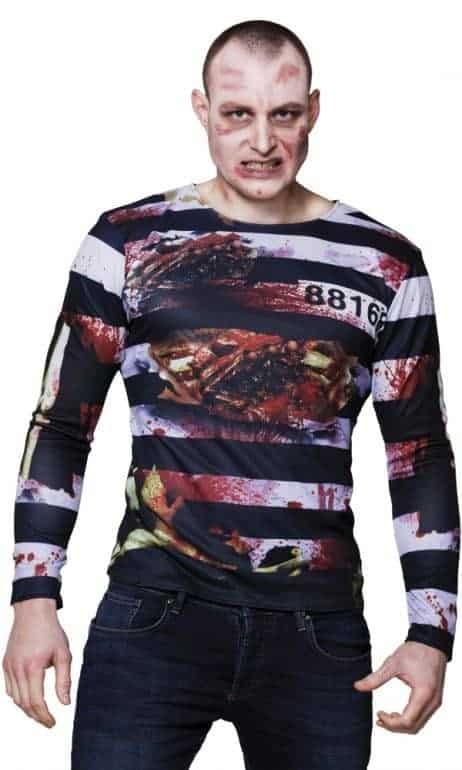 T-shirt bagnard en sang