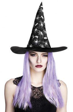 chapeau de sorciere + cheveux