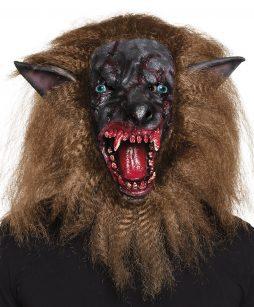 Masque loup garou sanglant