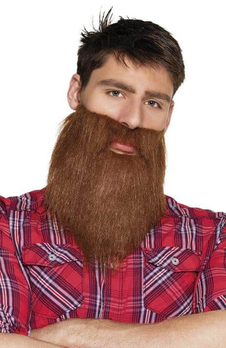 Fausse barbe hipster