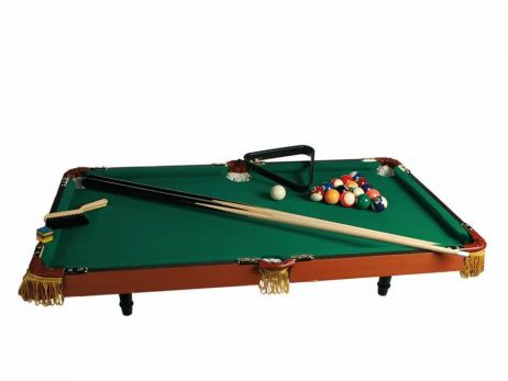 BILLARD DE LUXE EN BOIS (Dimension 90 x 50 cm)