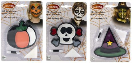 MAQUILLAGE HALLOWEEN (Pack maquillages assortis)