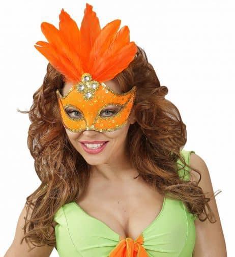 Loup Brésilien Orange Néon