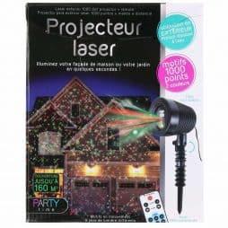 Projecteur laser exterieur