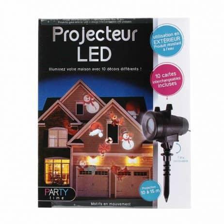 PROJECTEUR A LED (Projection 10 - 15 mètres)
