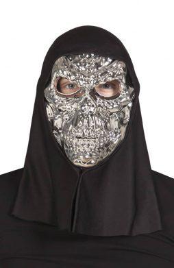 Masque squelette cagoule