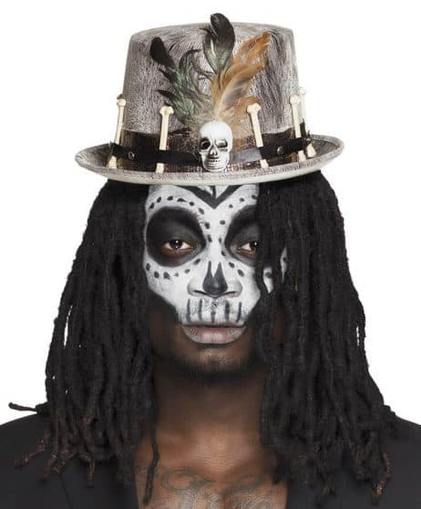 Chapeau voodoo gris