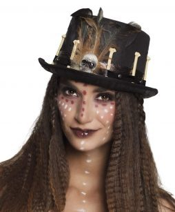 Chapeau voodoo noir