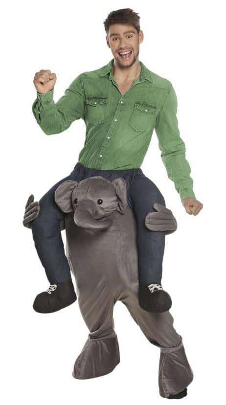 Mascotte porte moi elephant