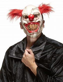Masque clown furieux