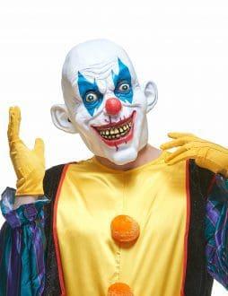 Masque clown chauve latex