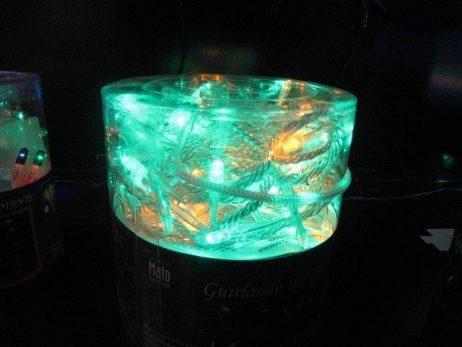 GUIRLANDE ELECTRIQUE (Multi couleurs avec 100 led) Fil transparent de 4m95