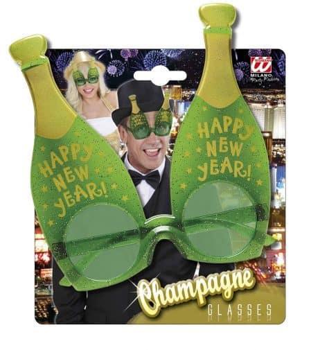 LUNETTES CHAMPAGNE (Bouteilles Bonne année) Happy new year