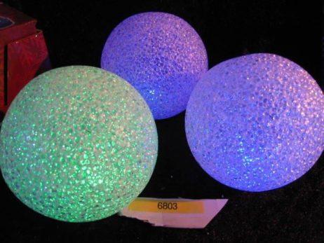 BOULES LUMINEUSES (Boules de noel - 12 cm) Décoration de noel
